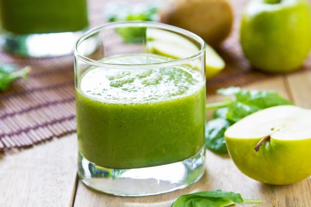 Spinach and Green Apple Smoothie | Blender Recipes